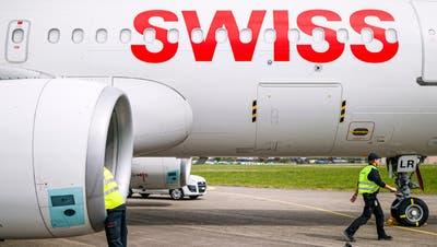 Dieter Vranckx, CEO der Swiss am Hauptsitz in Kloten. (Keystone)