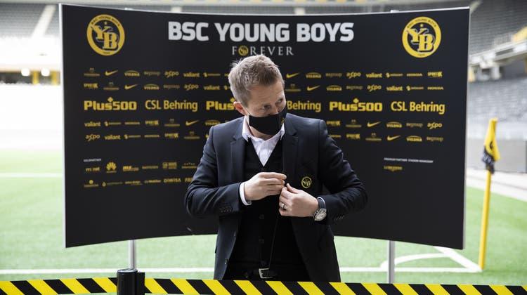 Christoph Spycher wird auch in der kommenden Saison als Sportchef beim Meister fungieren. (Keystone)