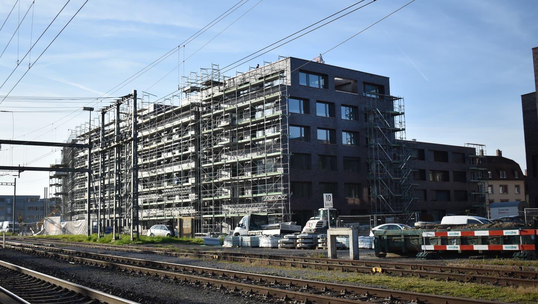 Die Überbauung Furnierwerk in Rheinfelden sieht 155 Wohnungen vor. (Nadine Böni (13. November 2020))
