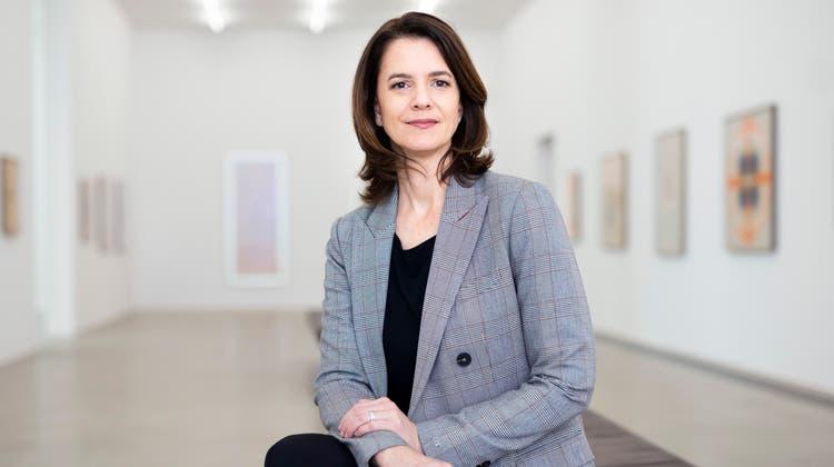 Katharina Ammann ist Leiterin des Aargauer Kunsthaus. (Bild: Britta Gut)