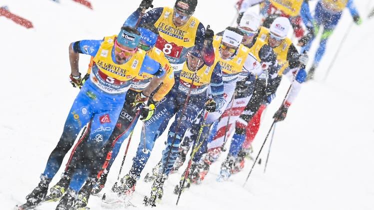 Spätestens im Jahr 2031 will die Schweiz erstmals überhaupt eine Nordische Ski-WM durchführen. (Bild: Gian Ehrenzeller / KEYSTONE)