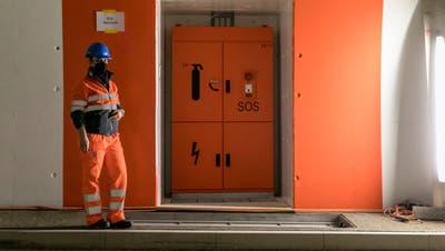 Die Adaptionsbeleuchtung an den Tunnelportalen. (san)
