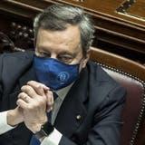 Hat den Italienern Impferfolge versprochen: Der neue Premier Mario Draghi. (Keystone)