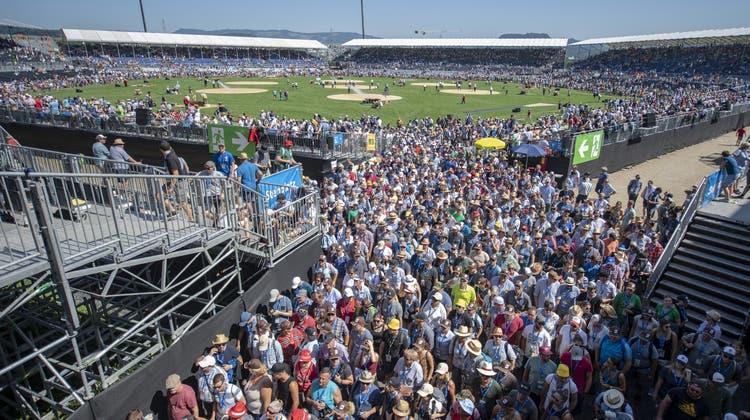 Für die über 250'000 Schwinger-Fans geht es 2025 in den Kanton Glarus. (Keystone)