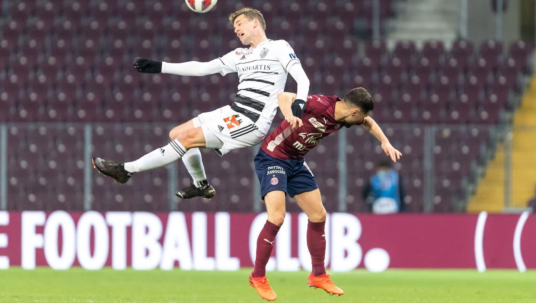 Der FC Basel kann im siebten Spiel in Folge nicht gewinnen und muss den zweiten Tabellenplatz abgeben. (Pascal Muller/Freshfocus / freshfocus)