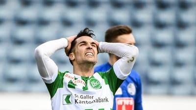 Der Liveticker zum Nachlesen: Der FC St.Gallen liegt gegen Luzern 2:0 vorne – und verliert doch noch
