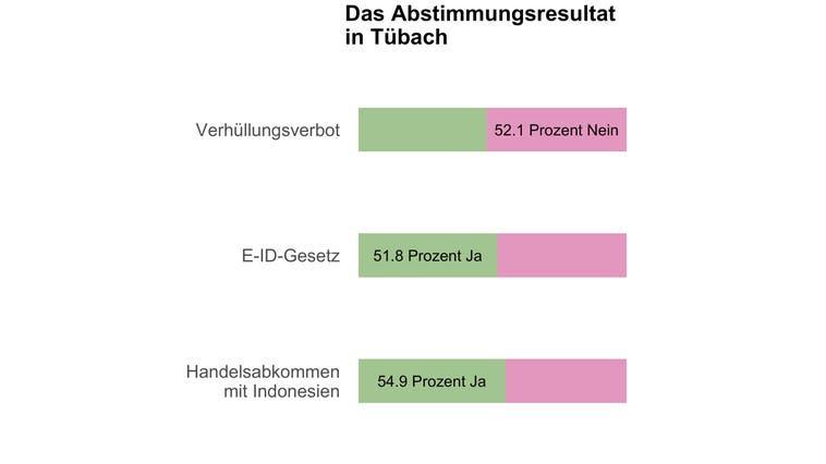 In Tübach entscheiden 21 Stimmen über das Burkaverbot