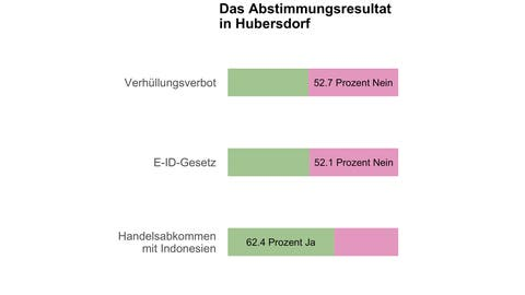 In Hubersdorf entscheiden 15 Stimmen über das Burkaverbot