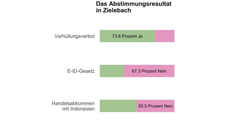 Deutliches Ja in Zielebach zum Burkaverbot
