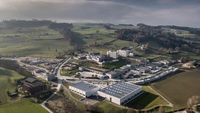 Der Campus Sursee in Oberkirch kann erweitert werden. (Bild: Pius Amrein  (3. Dezember 2019))