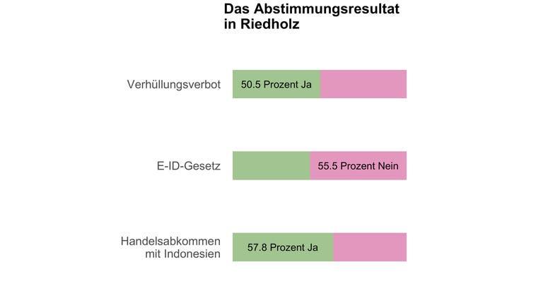 In Riedholz entscheiden neun Stimmen über das Burkaverbot