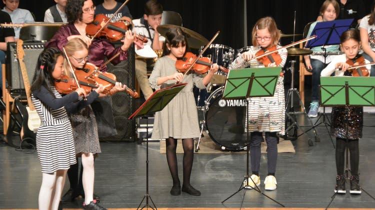 Frühlingskonzert der Musikschule Buchs-Rohr (heute Kreisschule Aarau-Buchs), 2019 (Zvg/Patrick Widmer / Aargauer Zeitung)