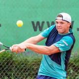 Dominic Stricker ist eines der Schweizer Talente am «Peter Buser Open». (Bild: Fabio Baranzini)