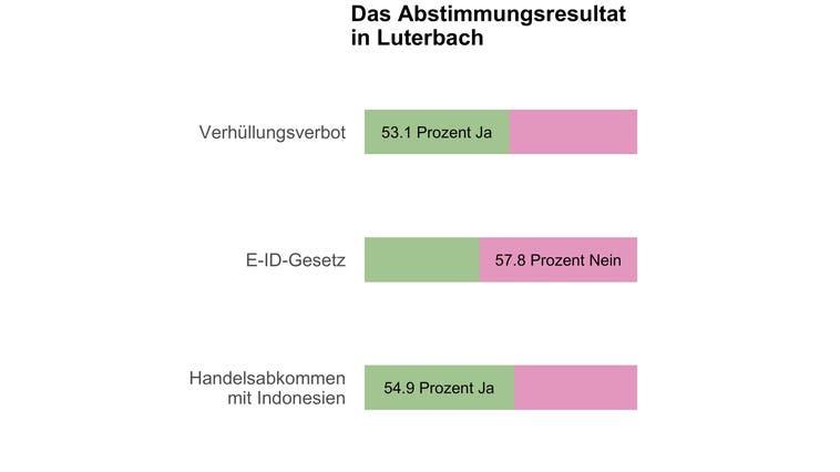 Luterbach entscheidet sich knapp für ein Burkaverbot