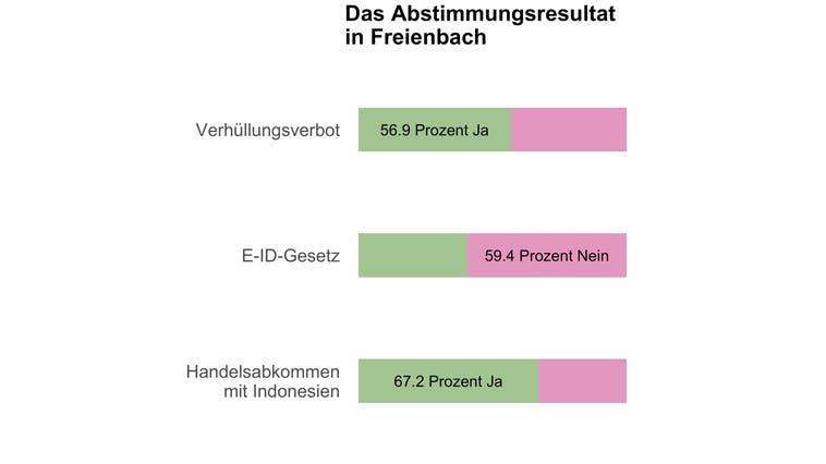 Freienbach sagt Ja zum Burkaverbot