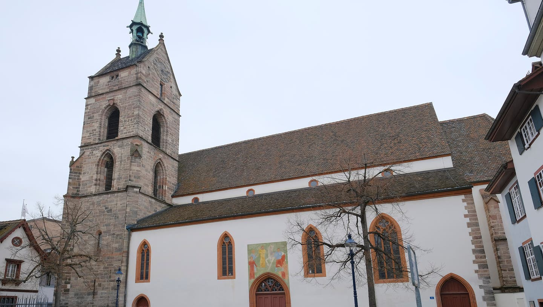 Die Martinskirche in Basel. (Bild: Kenneth Nars)