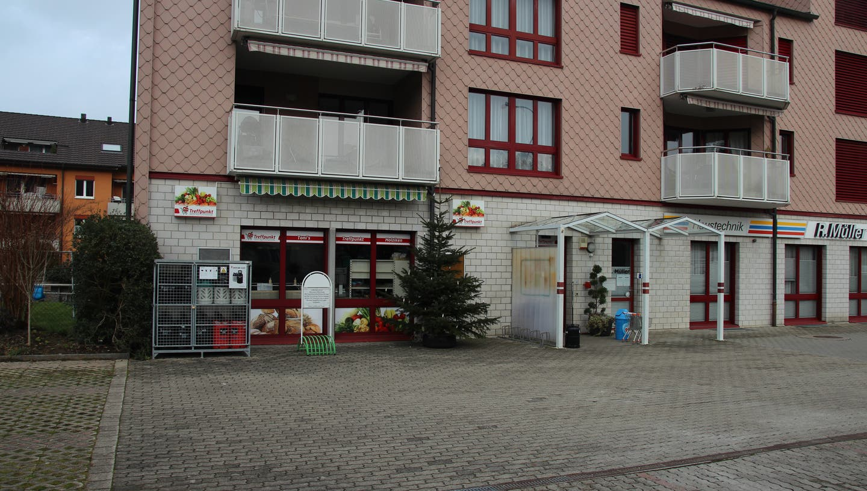 """Wird von vielen Holzikern vermisst: Der Dorfladen """"Toni's Treffpunkt"""", den es bis im Januar 2020 gegeben hat. (Anja Suter / Aargauer Zeitung)"""