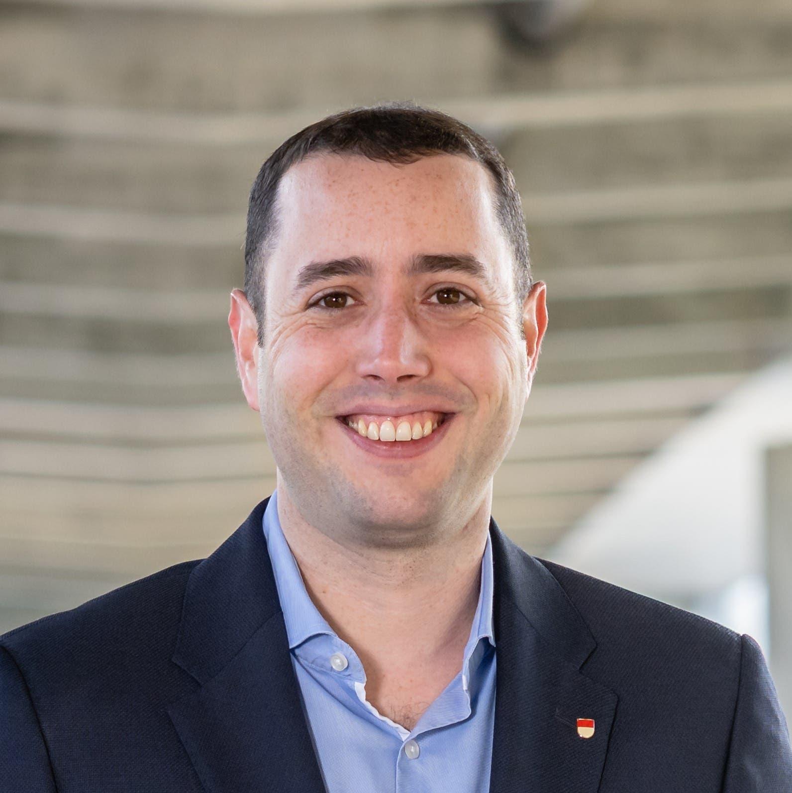 Christoph Scholl (FDP, Selzach, 4222 Stimmen)