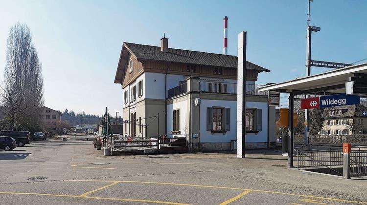 Der Bahnhof Wildegg wird für 45 Millionen Franken geliftet