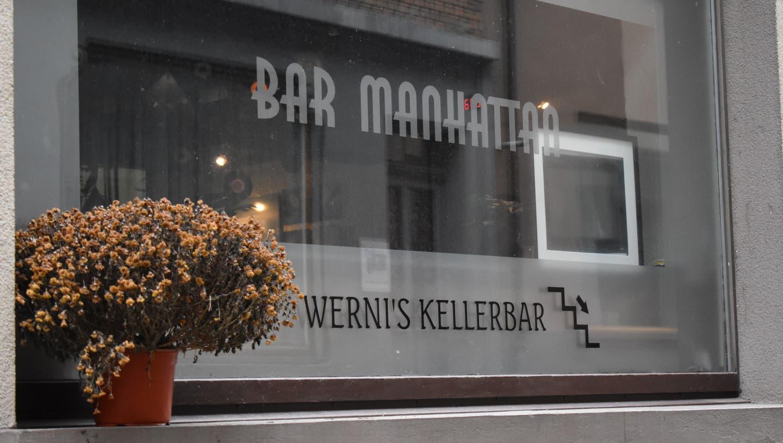 Wegen der Coronamassnahmen ist die Bar Manhattan seit Monaten zu. (DezemberNadine Böni / Aargauer Zeitung)