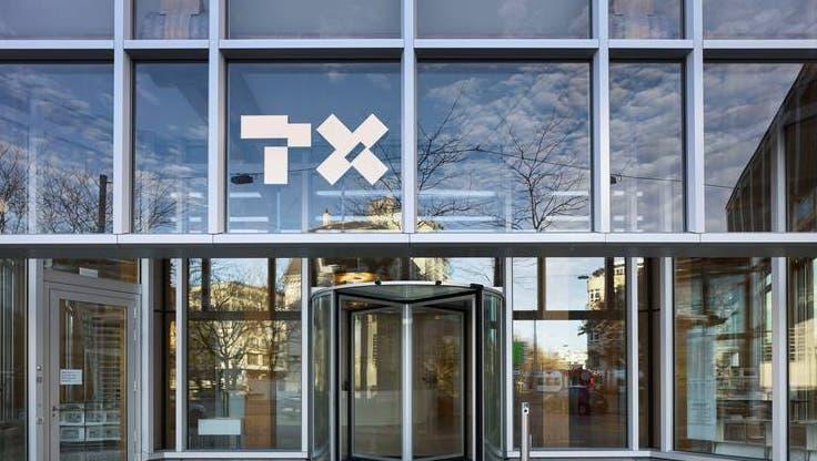 Hauptsitz des Medienunternehmens TX Group, das unter Tamedia  den «Tages-Anzeiger» herausgibt. (Bild: Keystone)