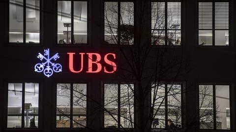 Der UBS droht eine Rekord-Busse. (Keystone)