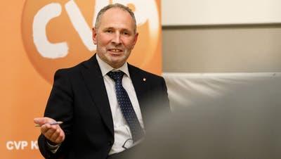 Bei der Delegiertenversammlung der CVP Kanton Solothurn verlor Georg Nussbaumer die Ausmarchung gegen die beiden Mitbewerber Sandra Kolly und Thomas A. Müller noch. (Hanspeter Bärtschi)