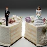Rund 40 Prozent der Ehen enden in der Schweiz mit der Scheidung. (Jeffrey Hamilton/Getty)