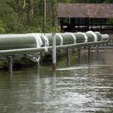 Energieautark: Auf Luterbacher Gemeindegebiet verläuft beispielsweise eine Fernwärmeleitung. (MT)