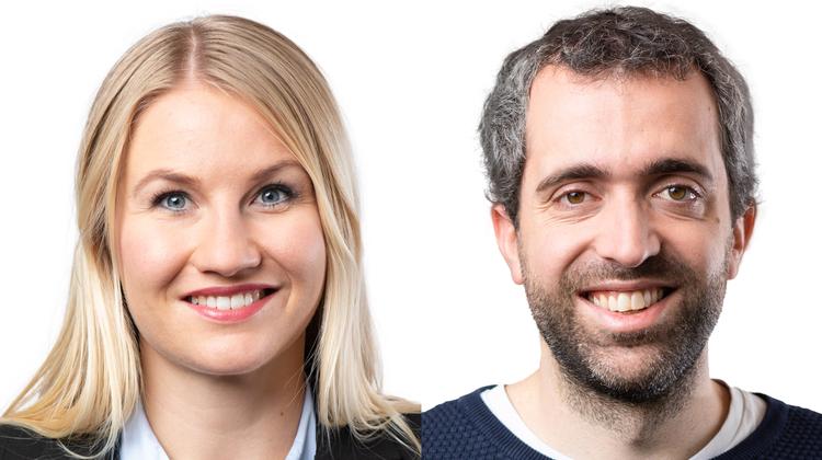 Marlene Fischer (links) profitiert davon, dass Raphael Schär-Sommer (rechts) auf seine Wahl in den Kantonsrat verzichtet. (zvg)
