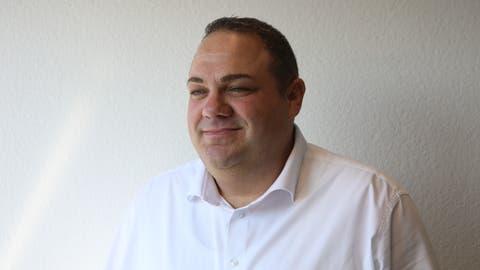 Stefan Strebel: «Natürlich haben nicht alle immer Freude an mir. Ich bin ein Visionär.» (Pascale Alpiger)