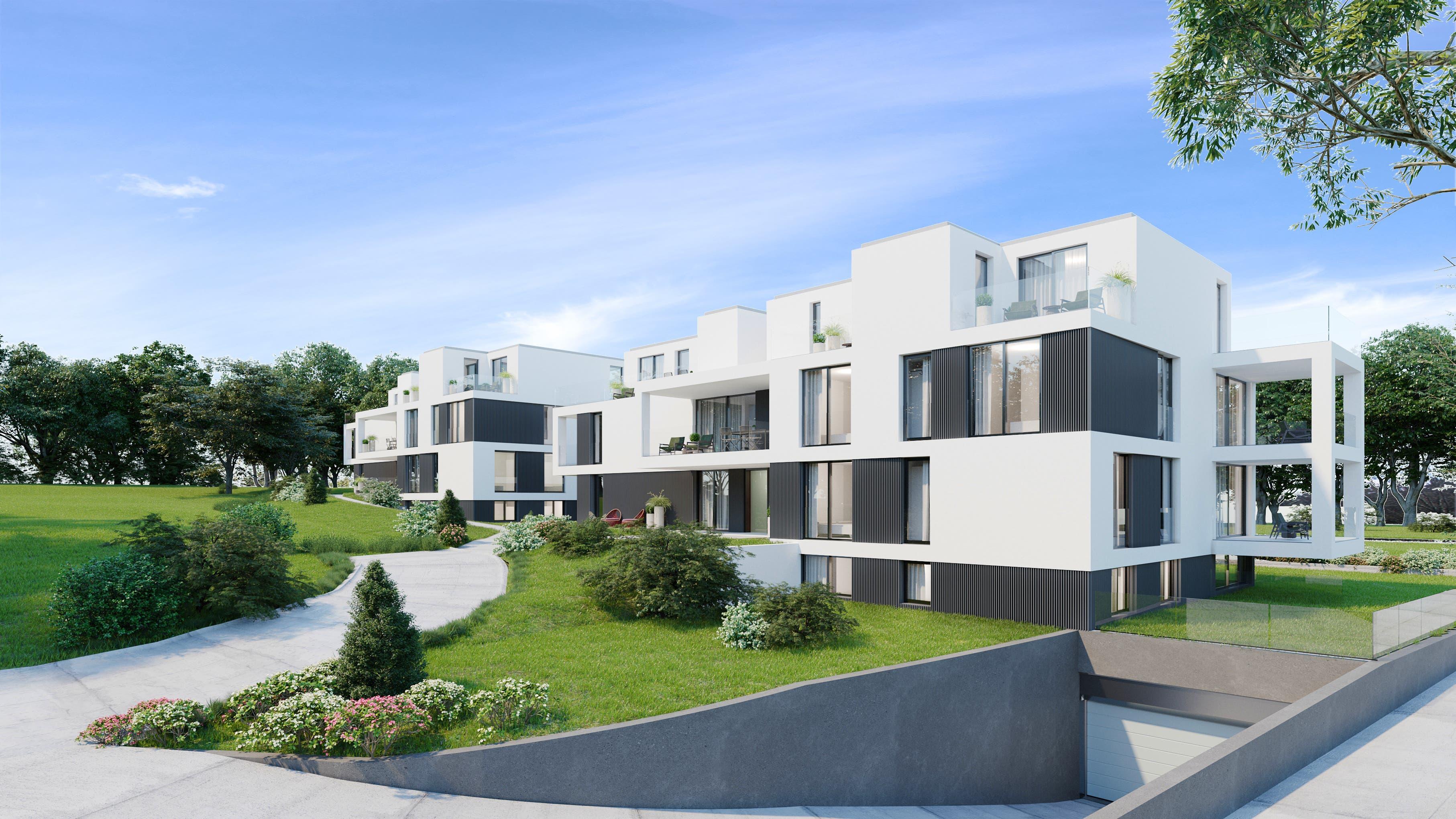 Stadtnah und doch in der Natur: Die Bauverantwortlichen haben bei der Projektierung laut eigenen Angaben viel Wert auf die Lage gelegt.