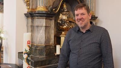 Bernhard Lindner war 14,5 Jahre lang Gemeindeleiter in Oeschgen. Heute arbeitet er für die Landeskirche Aargau. (Thomas Wehrli/ Aargauer Zeitung)