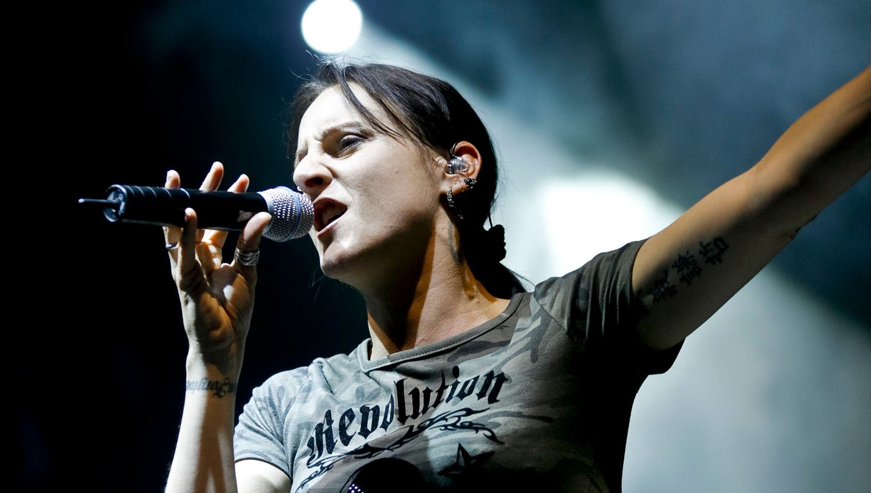 Die Berner Sängerin Sandee. (Felix Gerber / EOS 5D)