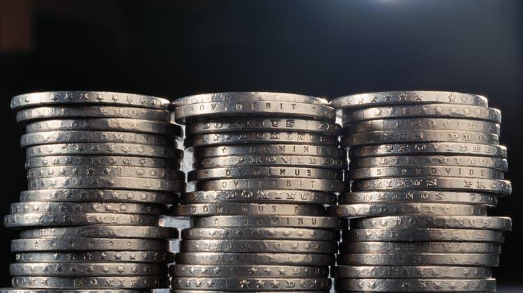 Die Verurteilte hat während zweieinhalb Jahren Geld aus der Münzzählmaschine gestohlen. (Gaetan Bally / KEYSTONE)