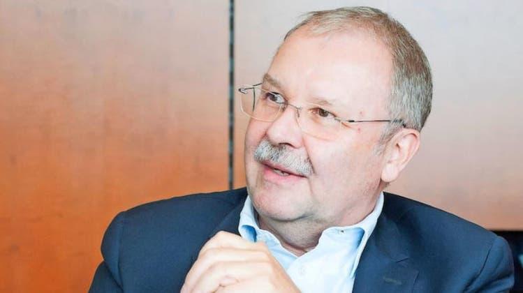Als Luzerner bedauert er das Aus für den Bürgenstock doppelt: WEF-Geschäftsführer Alois Zwinggi. (Bild: Olivia Aebli-Item/Somedia)