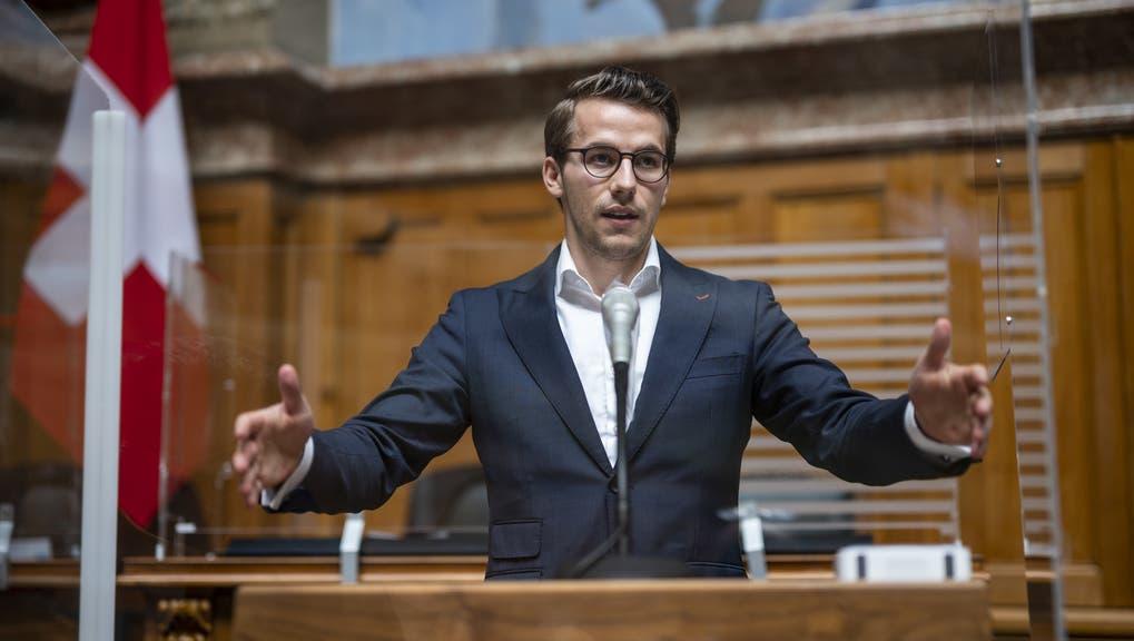 Der Zürcher FDP-Nationalrat ist der jüngste Abgeordnete. (Keystone)