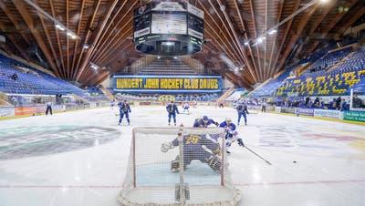 Die Davoser verlieren zum 100-Jahr-Jubiläum gegen die ZSC Lions 2:3. (Claudio Thoma / Freshfocus)