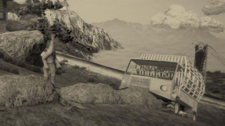 Szene aus dem Videospiel «Mundaun». (Bild: PD)