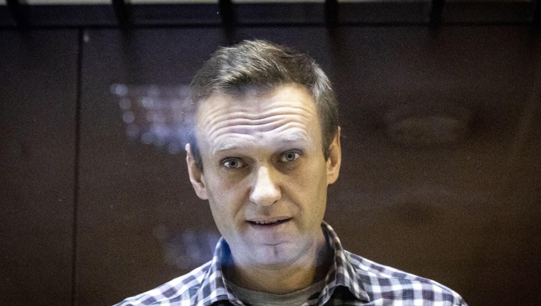 Hungerstreik für medizinische Versorgung: Das russische Gefängnissystem quält den Kremlkritiker Alexej Nawalny. (Alexander Zemlianichenko / AP)