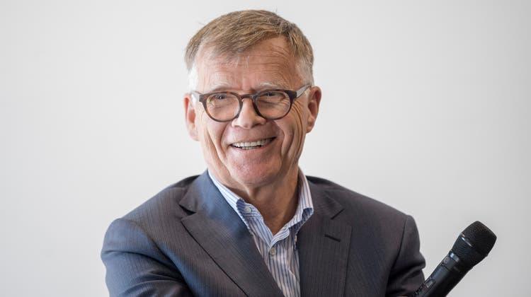 CH Media-Verleger Peter Wanner. (Keystone)