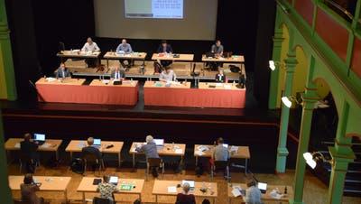 Dritte Sitzung für das Wiler Stadtparlament in diesem Jahr. (Bild: PD)