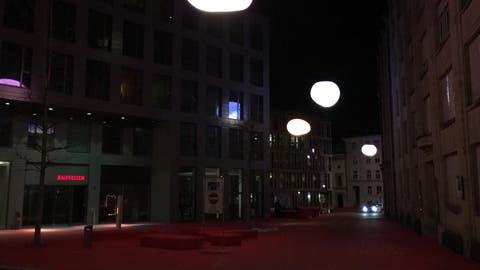 Auch der Rote Platz ist fast menschenleer. (Bild: Raphael Rohner)