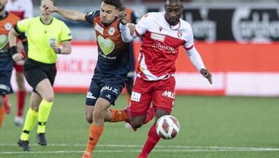 Vierte Niederlage in Folge für Kastrijot Ndau und den FC Wil. (Bild: Keystone)