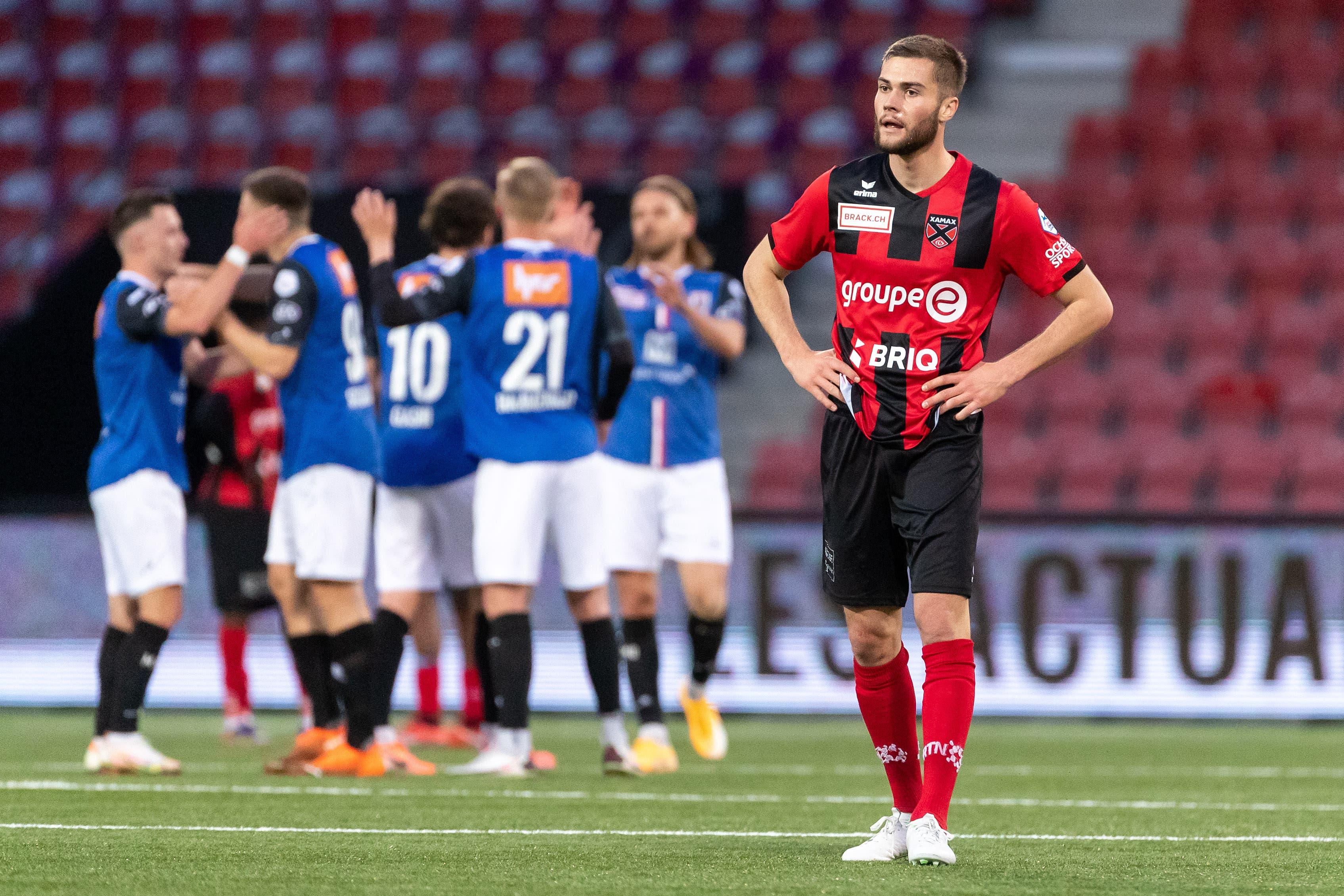 Der FC Aarau gewinnt auch das vierte Saisonduell gegen Xamax.