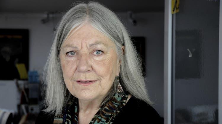 Die Autorin Helga Schubert. (Renate von Mangoldt)