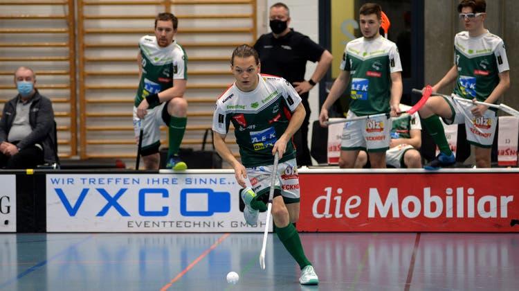 Topscorer Michal Dudovic führte den SV Wiler-Ersigen im vierten Spiel vom Sonntag mit einem Hattrick zum Sieg. (Hans Peter Schläfli)