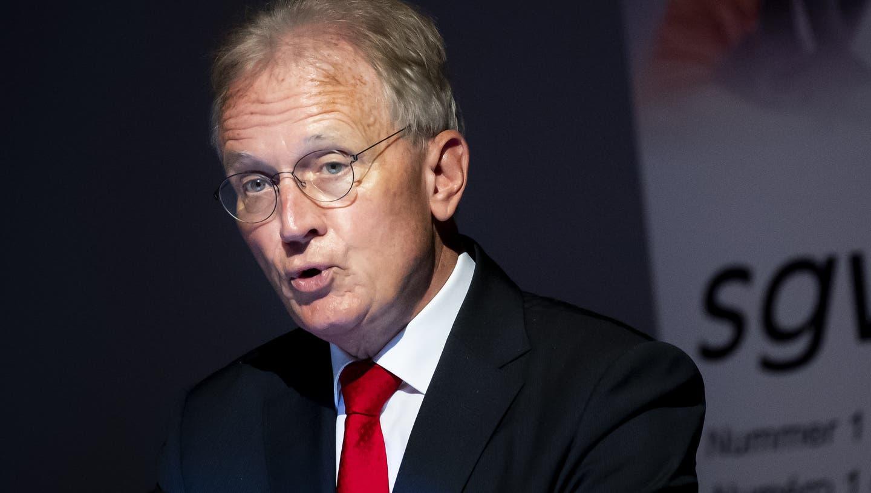 Der Direktor des Gewerbeverbands, Hans-Ulrich Bigler, fordert eine Abkehr von der aktuellen Coronapolitik. (Archivbild) (Keystone)