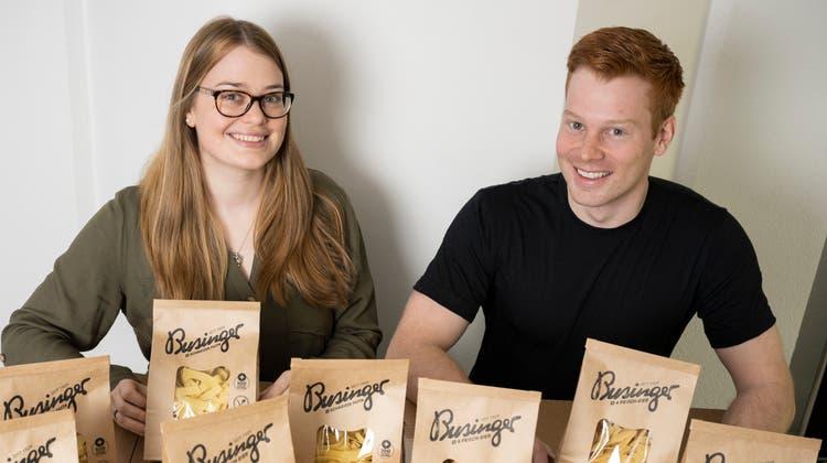 Führen die Tradition fort: Sandra (28) und Markus Geissler (26). (Alex Spichale)