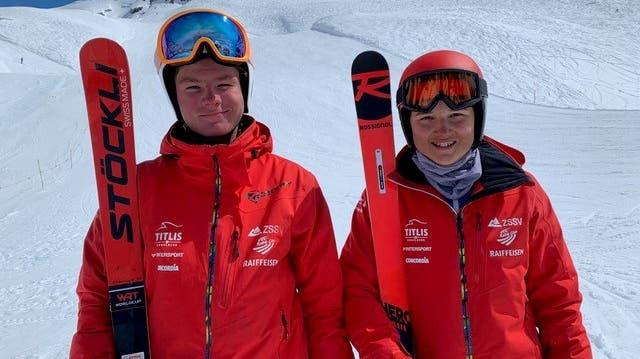 Erfolgreich unterwegs: Nick Rickenbach und Delia Lang. (Bild: PD)